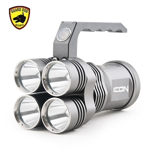 Icon 3,000 lumen compact tactical floodlight